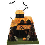 Vintage Halloween Haunted House
