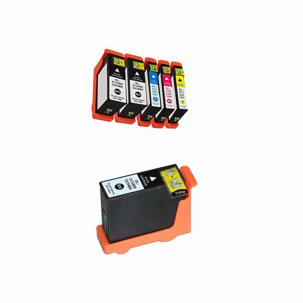 compatible ink cartridges for dell all in