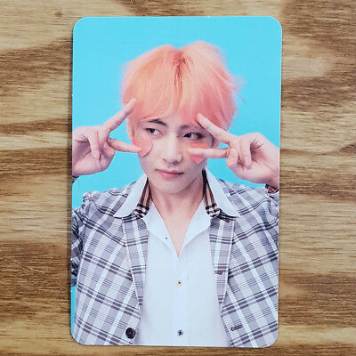 V Official Photocard Bts Love Yourself Answer F Version