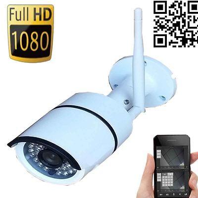 Wansview Wireless IP Camera 1080P HD Open-air P2P Waterproof WiFi Smartphone PC