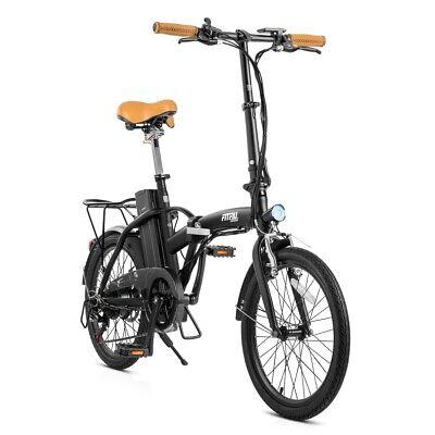 "Bicicleta electrica plegable 20"" 250W bateria SAMSUNG 36V Shimano 6V-FITFIU"