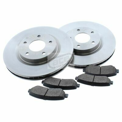 For Nissan Qashqai J10 2007-2014 1.5 1.6 2.0 Front Vented Brake Discs & Pads Set