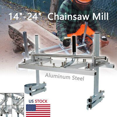 Us Portable Chainsaw Mill 14-24 Chain Saw Mill Aluminum Steel Planking Lumber