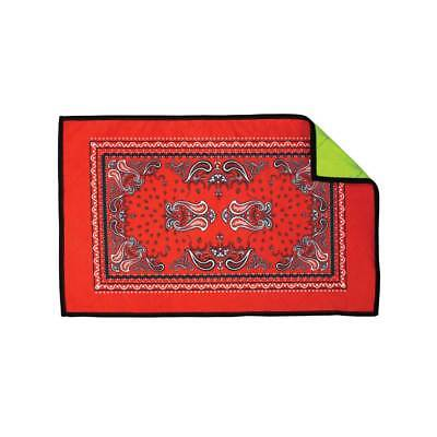 Exalt Paintball Microfiber Goggle Cloth - Player Size - Red Bandana Paintball Player Clothes