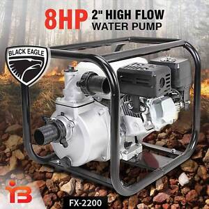 Discount on Black Eagle 2 Inch 8.0HP High Flow Petrol Water Pump Fairfield Fairfield Area Preview