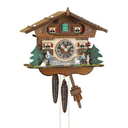 Mechanical cuckoo clock Heidi house 1 day- Made in the Black Forest Germany