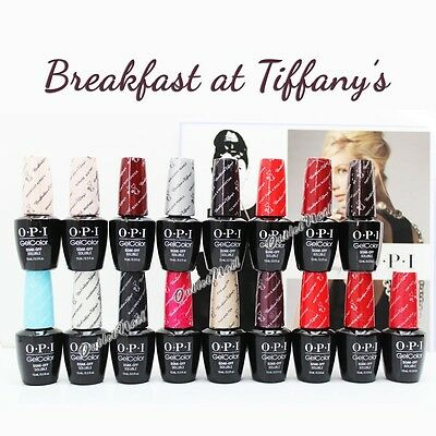 OPI Soak-Off GelColor Breakfast At Tiffany's 2016 Holiday Collection PICK 1 Gel