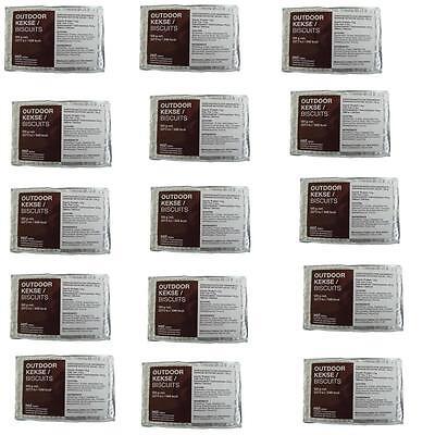 1kg/13,6€ Notverpflegung 15X Outdoor Kekse 1,8kg auf langen Märschen o.Einsätzen