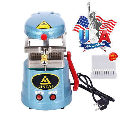 Dental Vacuum Forming Molding Machine Former Heat Thermoforming Equipment +Gift