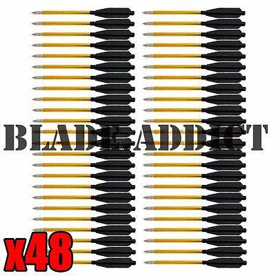 X48 Arrow Aluminum Metal Arrows Bolts 50 80 Lbs Pistol Crossbow Bow High Quality