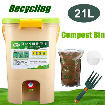 10-21l Abfalleimer Komposter Luftige Komposteimer Bokashi Balls Eimer