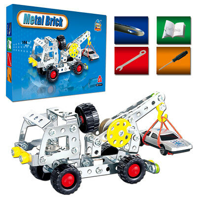 144pcs STEM Toys Kit Bulding Bricks Set for  Age 6+ Years Old Christmas's Gifts