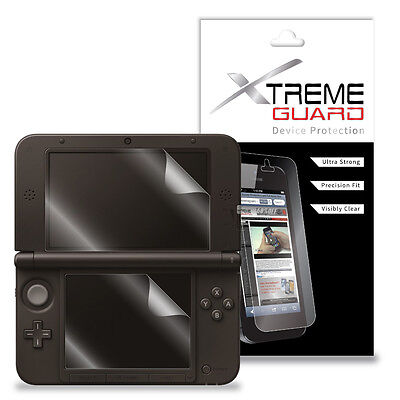 Frank XtremeGuard LCD Screen Protector Skin For Nintendo 3DS XL (Anti-Scratch)