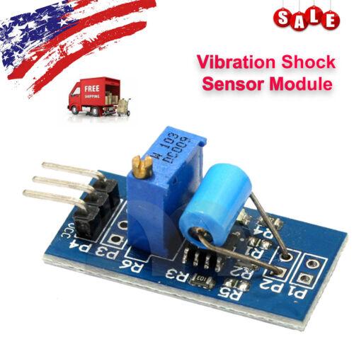 Vibration Shock Sensor Module Switch Movement Alarm for Arduino earthquake alarm