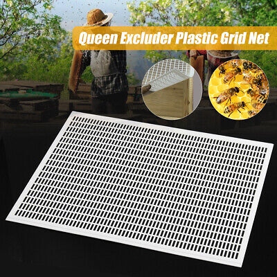 51x41cm Bee Queen Excluder Trapping Net Grid Beekeeping Honey Tool For Beekeeper