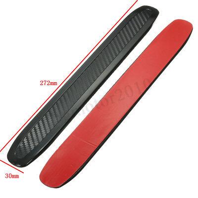 Car Parts - 2Pc Universal Car Bumper Corner Rubber Protector Anti-rub Scratch Guard Strip US