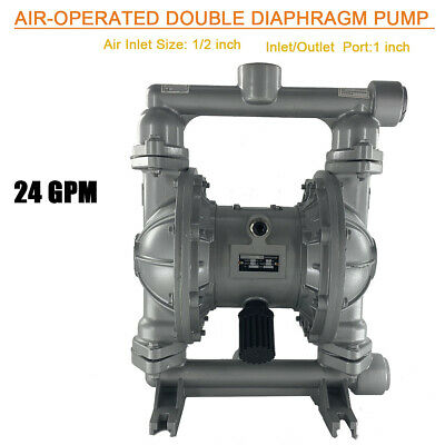 Air-operated Double Diaphragm Pump 1 Inlet Outlet Qbk-25l For Waste 24gpm