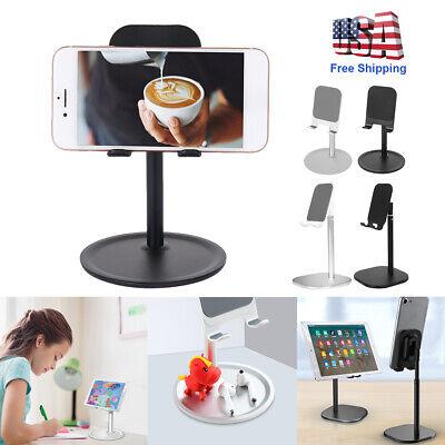 Universal Adjustable Tablet Stand Desktop Mount Holder for iPad iPhone Cellphone