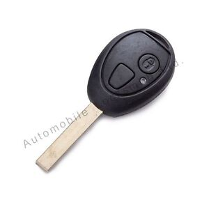 for Rover 75 MG ZT Mini One 2 button remote key fob case shell & fix blade