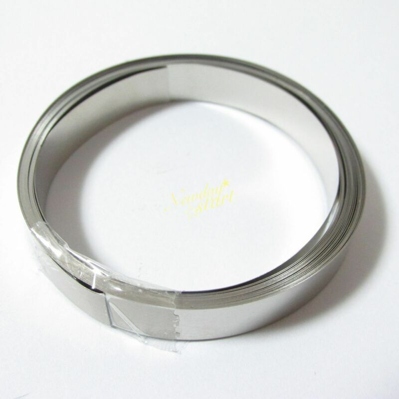 For Li 18650 Battery Spot Welding 8mmx 0.1mm Pure Ni Plate Nickel Strip Tape 10M