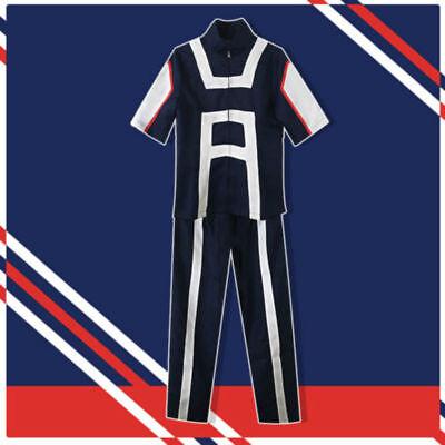 My Hero Academia Boku No Hero Cosplay Academia Kohei Horikoshi Gym Costume  (Costume Hero)