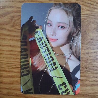 Ryujin Official Photocard ITZY Guess Who Genuine Kpop