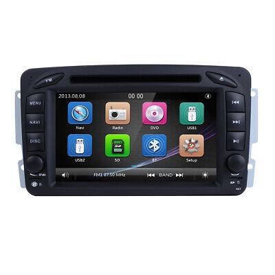 Autoradio DVD GPS Für Mercedes Benz C Klasse W203 CLK W209 W639 Vito Viano DAB+