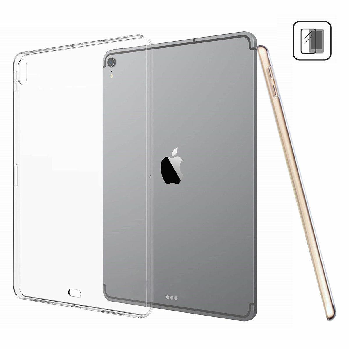 "For iPad Pro 12.9"" 3rd Generation 11"" 2018 Silicone Transpar"