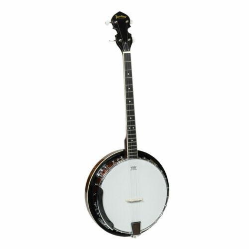 New Heartland 4 String Tenor Banjo Mahogany With Nylon Case