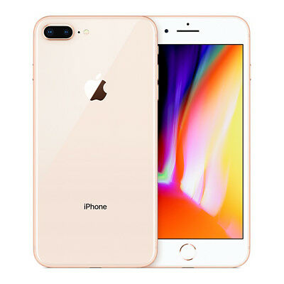 Apple iPhone 8 Plus A1897 64GB 4G LTE GSM Unlocked - Excellent