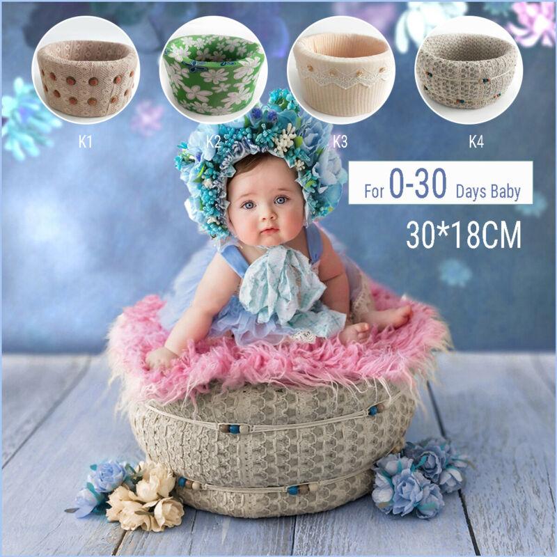 30*18CM Newborn Baby Photography Travel Posing Poser Backdrop Photo Prop Basket