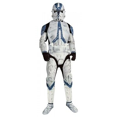 Clone Trooper Costume Adult Star Wars Halloween Fancy - Clone Trooper Halloween Kostüme