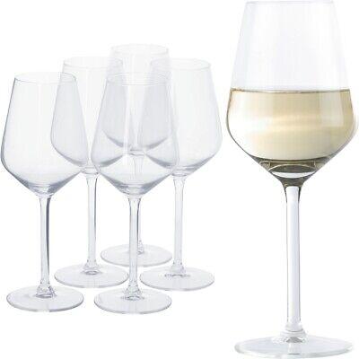 6 x Alpina Weißweingläser SET Design edel Weinglas Gläser Wein Klar Modern Rosé