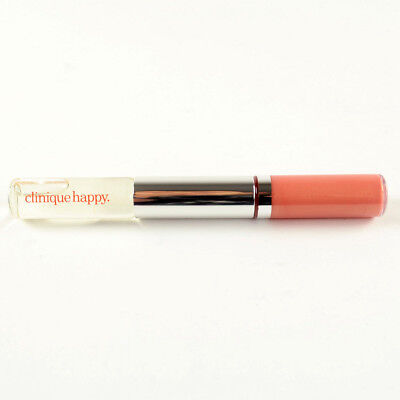 Clinique Duo Happy Perfume Rollerball Roll On & Long Lasting Lip Gloss #27 Happy