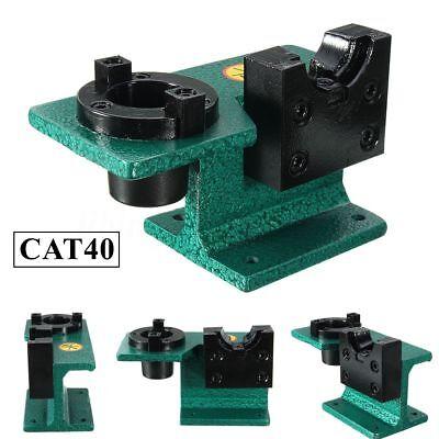 Cat40 Universal Cnc Tighten Tool Holder Tightening Fixture Clamping Green Usa