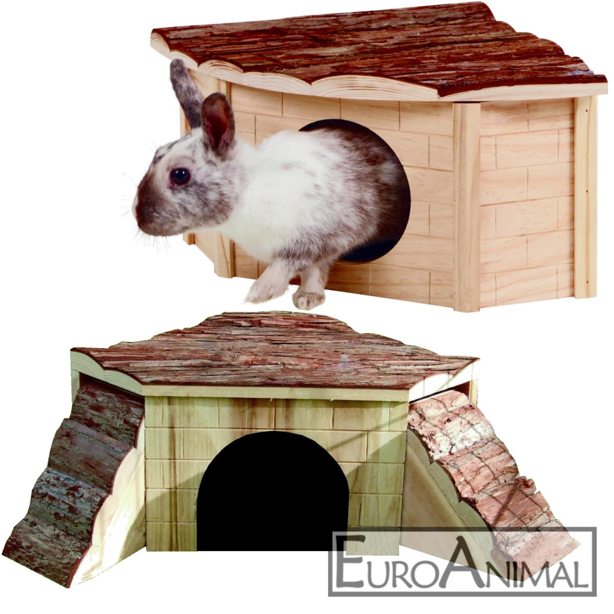 Nagerhaus Kleintierhaus drei Größen; Kaninchenhaus Eckhaus Meerschweinchenhaus