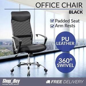 Free Delivery: Executive Mesh Computer Chair High Back Ergonomic Parramatta Parramatta Area Preview