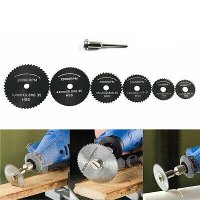 Mini Drill Rotary Wood Cutting Blade Tool Circular Saw Disc Set -