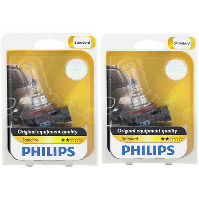 (Two Philips Standard Halogen Light Bulb H9B1 for 12361 H9 12V 65W 12361B1 pj)