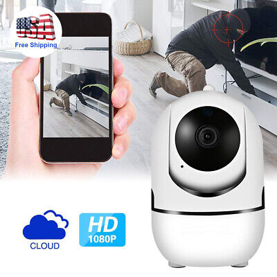 Used, WIFI HD 1080P P2P Audio Indoor IR Night Vision Wireless IP Camera Home Security for sale  Shipping to Nigeria