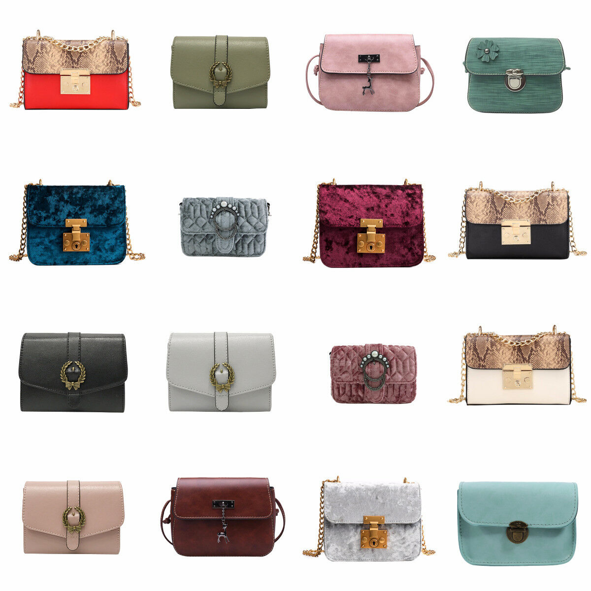 Women Ladies Shoulder Bag Tote Messenger Crossbody Satchel Handbag Satchel Purse