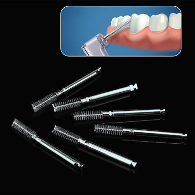100 Pcs Dental Clean Tooth Polisher Hygiene Cylinder Type Brush Contra Angle