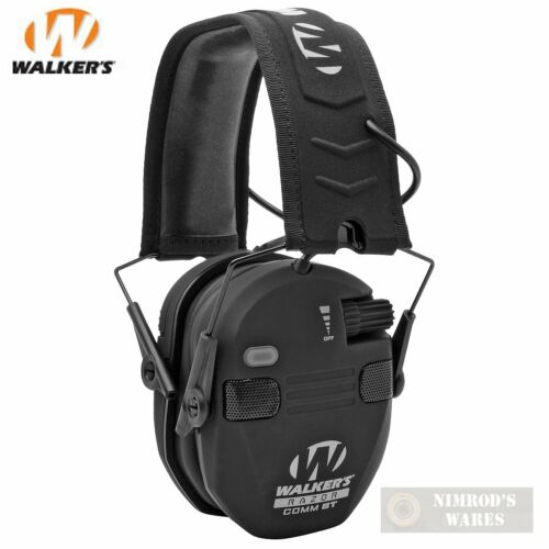 Bluetooth Ear Muffs For Shooting Walker's Game Razor Low Cup