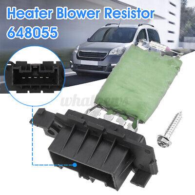 Heater Blower Resistor 648055 For Citroen Berlingo Peugeot Partner Relay 08-16