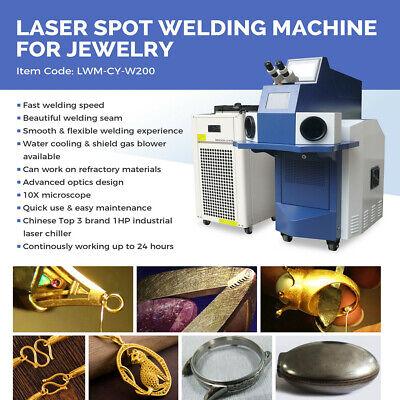 Usa Jewellery Laser Welder Spot Laser Welding Machine For Gold Silver Titanium