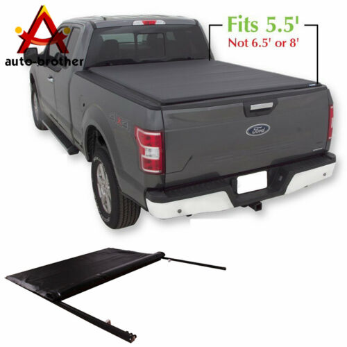 Jdmspeed Roll Up Soft Tonneau Cover 5 5 Short Bed For Ford F 150 2004 2018 Ebay