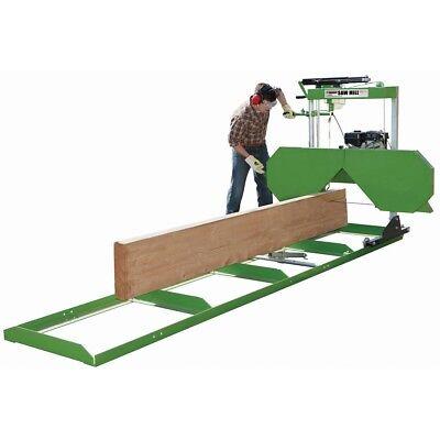 2018 Wood Razor-fully Complete 7hp 301cc Portable Sawmill Saw Mill Bandmill