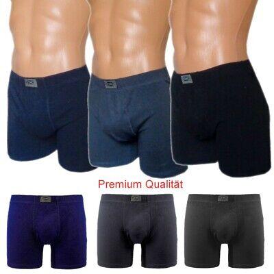 Herren Boxershorts Men Premium 6 große Boxer Baumwolle Unterwäsche   6 7 8 9 - Große Herren-boxer