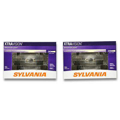 Sylvania XtraVision - Two 1 Packs - H6054XV Light Bulb Fog Daytime Running jc