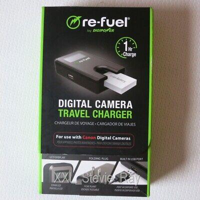 Ladegerät für Canon Powershot Kameras mit US+EU Stecker, Re-Fuel (S110,